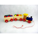 wholesale Toys:Wooden train with blocks