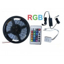 RGB LED strip 5m multicolour with remote control