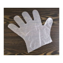 wholesale Cleaning: Disposable plastic gloves 100 pieces size L.