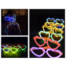 Heart light chemical glasses