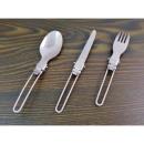 17cm steel folding cutlery