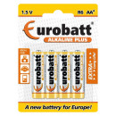 wholesale Batteries & Accumulators: Alkaline Plus R6 AA batteries 4 pcs.