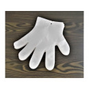 wholesale Gloves: Foil skidding gloves with a hole
