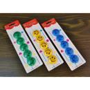 Smiley Fridge Magnets (Mr. Smiley ) 5 pcs