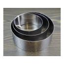 Round steel form 3 pieces