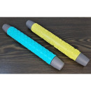 Silicone rolling pin with a mix pattern
