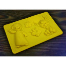wholesale Licensed Products: Silicone molds LILO and STICH