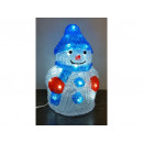 Christmas decoration, LED ACRYLIC SNOWMAN, average