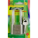 wholesale Ironmongery: Padlock chrome long ear 40 mm