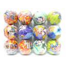 wholesale Balls & Rackets: Rubber ball colorful 8 cm