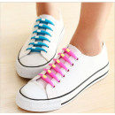 Shoe laces Silicone