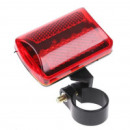 Bicycle lamp rear 5 LED