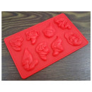 wholesale Licensed Products:Silicone mold DWARFS