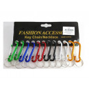 wholesale Gifts & Stationery: Carabiner, metal keychain