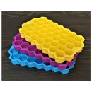 Hexagonal silicone ice mold