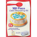 Set to decorate cakes TV 100 parts