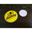 Chemical light badge Happy Birthday