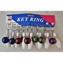 Billiard ball and bowling pendant