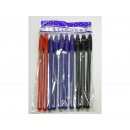 Pens 10 pcs (blue black red)