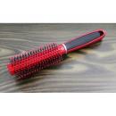 Satin hair brush touch, round