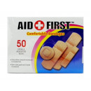 Adhesive bandages set of 50 pieces
