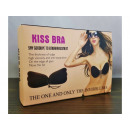 Self-supporting bra invisible push-up silicone