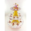 groothandel Servies: Stand 3 tiered cake muffin