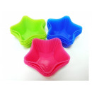 Muffin molds silicone muffin stars