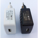 USB Charger 2 Amp power supply White