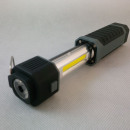 Sliding flashlight, COB LED workshop lamp
