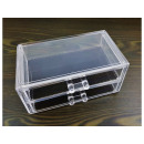 wholesale Make-up Accessoires: Acrylic rack drawer for cosmetics 19x9x10cm
