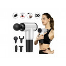 Muscle massager gun 4 heads