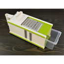 Multifunction grater with peeler container