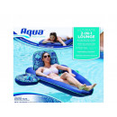 Mattress inflatable chair with a base for drinks