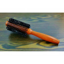 Hair brush 22cm round wood