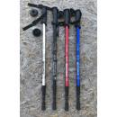 wholesale Outdoor & Camping: Trekking poles 135cm Nordic walking aluminum
