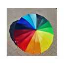 wholesale Umbrellas: Rainbow umbrella 16 wires handle J automatic