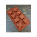 Silicone form for chocolate mix 8pcs