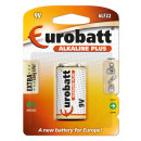 Batteries Alkaline Plus LR9 EUROBATT
