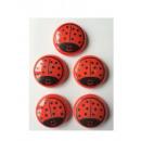 grossiste Magnetique: Aimants de  réfrigérateur  Coccinelles 40 mm ...