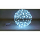Sphere pendant 100 LED cool white color