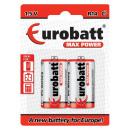 Max Power R14 batteries blister 2 pieces