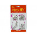Set of 4 safety pins