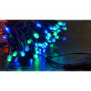 luci dell'albero di Natale 100 LED multicolore