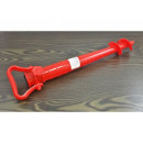 Screw-in umbrella holder, 42 cm long