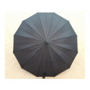 Umbrella long automatic handle J 12 wires black