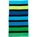 Beach Towel Green Stripes