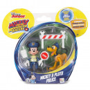 Mickey & Pluto Police Force IMC Toys 182332