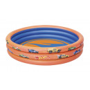 wholesale Garden playground equipment: Bestway 93403 Hot Wheels Kids 3-Ring Paddling Pool