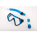 wholesale Aquatics: DIVING MASK SET  WITH SNORKEL TEMPERED GLASS